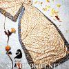 شال موهر پاییزه پلنگی حاشیه فندی FENDI