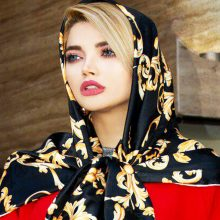 روسری ابریشم تویل SH-T7